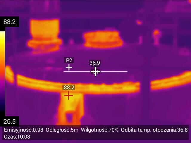 047 - Usługi inspekcyjne kamerą termowizyjną