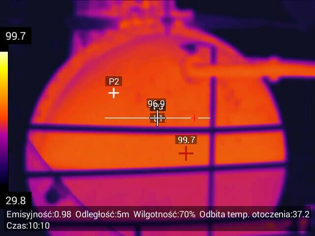 055 - Usługi inspekcyjne kamerą termowizyjną