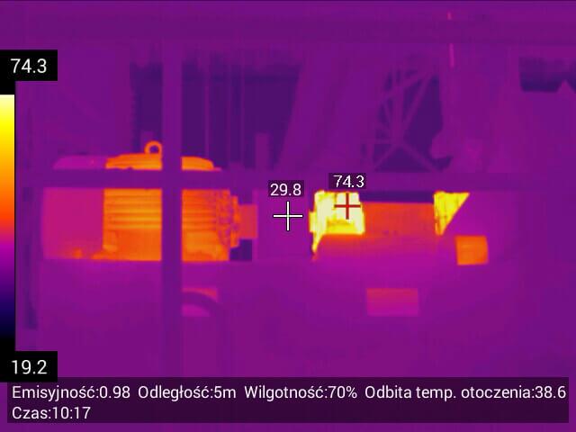 063 - Usługi inspekcyjne kamerą termowizyjną