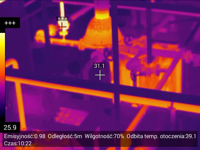 067 - Usługi inspekcyjne kamerą termowizyjną