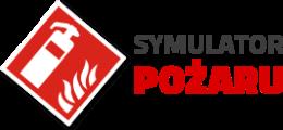 logo symulator pożaru